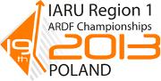 Region 1 ARDF Championships 2013 logo